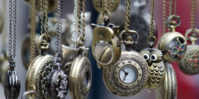dangling pocket watches