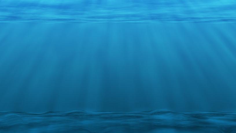 underwater water; deep water